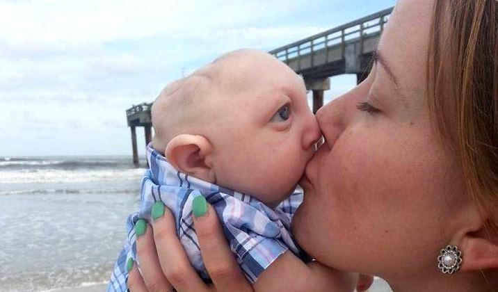Jaxon, el bebé con medio cerebro que pudo ser abortado