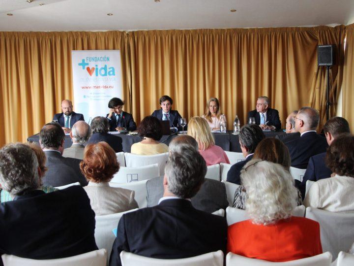 Fundación +Vida reúne a directivos y empresarios para acometer una reestructuración y nuevas iniciativas en la defensa de la vida